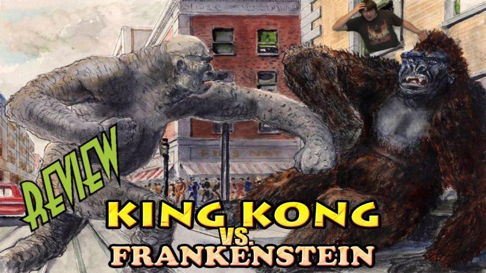 36. King Kong VS Frankenstein (1962) KING KONG REVIEWS