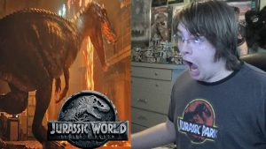 Jurassic World: Fallen Kingdom (2018) TRAILER REACTION!!!