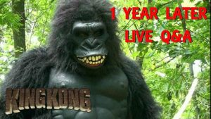 King Kong (2016) Fan Film – 1 YEAR LATER Q&A – A BigJackFilms Livestream