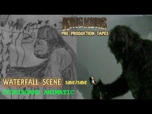 King Kong (2016) Fan Film ANIMATIC/FINAL SCENE – Waterfall Scene