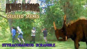 King Kong (2016) Fan Film DELETED SCENES – Styracosaurus Scramble