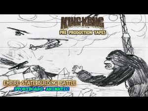 King Kong (2016) Fan Film STORYBOARD ANIMATIC – Empire State Building