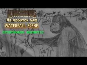 King Kong (2016) Fan Film STORYBOARD ANIMATIC – Waterfall Scene