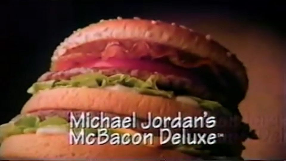 McJordan Bacon Deluxe - FOOD CORNER