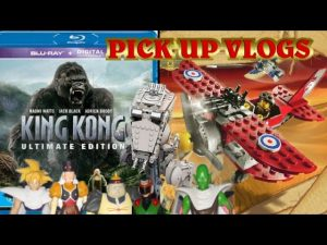 PICKUP VLOGS – Episode 27 – KING KONG BLU RAY, LEGO & DRAGONBALL Z