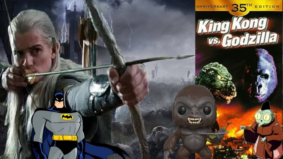 PICKUP VLOGS - Episode 28 - KONG, COSPLAYS, BATMAN & MIDDLE EARTH