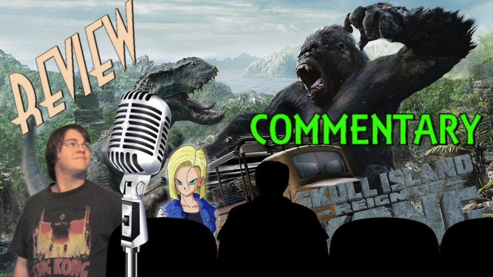 AUDIO COMMENTARY - Skull Island: Reign Of Kong