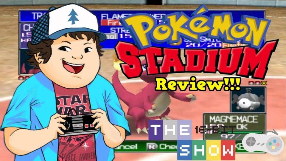 Pokemon Stadium (N64) REVEIW - The16BitShow