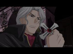 What does Issa Shuzen (Moka's Father)(Rosario+Vampire) think of Twilight?