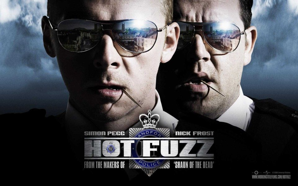 Hot Fuzz Review The Cornetto Trilogy Part Ii Gassed Up Geeks