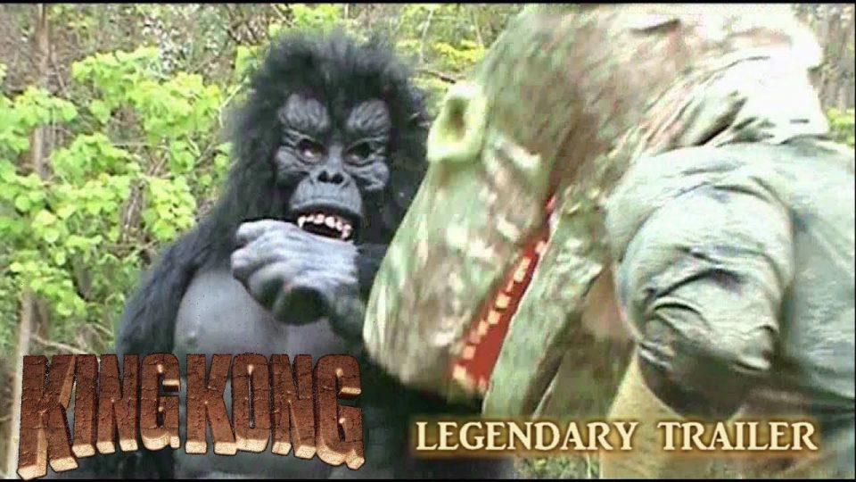 CLASSIC LEGENDARY TRAILER - King Kong (2016) Fan Film