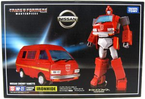 Jim Un-Boxes Stuff – Transformers Masterpiece Ironhide