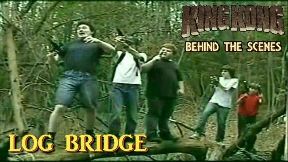 2. LOG BRIDGE - King Kong (2016) Fan Film BEHIND THE SCENES  {#85YearsOfKong}
