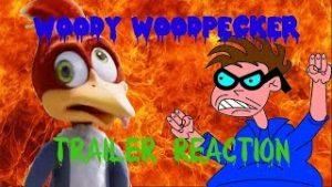 Woody Woodpecker: The Movie TRAILER REACTION – Matthew Lamont