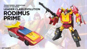 Jim Un-Boxes Stuff – Transformers P.O.T.P. Rodimus Prime