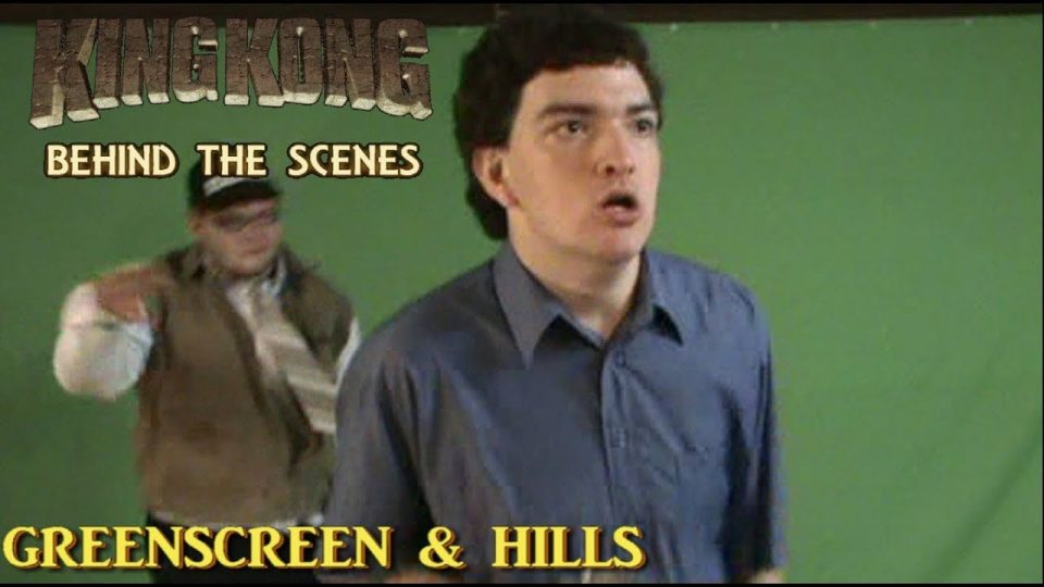 3. GREENSCREEN & HILLS - King Kong (2016) Fan Film BEHIND THE SCENES  {#85YearsOfKong}