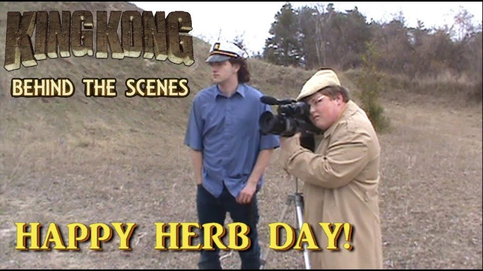 1. HAPPY HERB DAY! King Kong (2016) Fan Film BEHIND THE SCENES  {#85YearsOfKong}