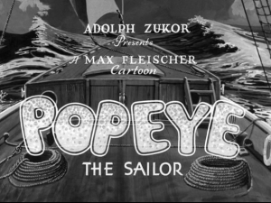 Popeye The Sailor Man (1933) – Mega Jay Retro