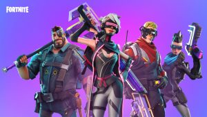 Harley's Fortnite With Friends.