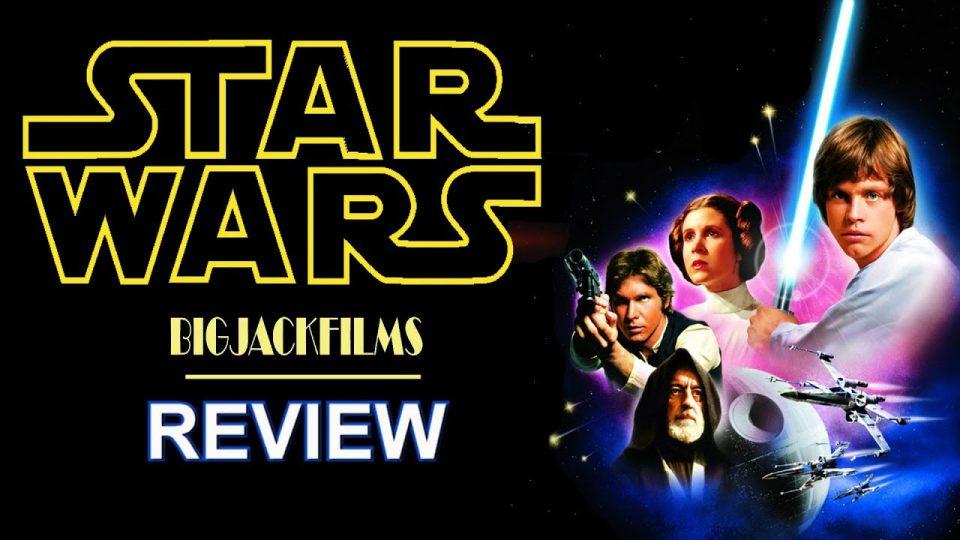Star Wars (1977) REVIEW - THE STAR WARS SAGA