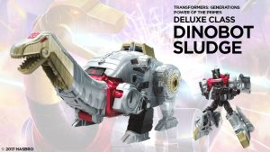 March of the Dinobots – Sludge & Volcanicus TOY REVIEW