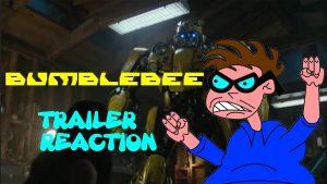 Bumblebee – Trailer Reaction – MATTHEW LAMONT