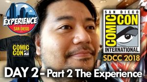San Diego Comic-Con (2018) Day 2 – Part 2 The Experience in San Diego – MEGA JAY RETRO