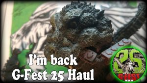 Back From G-Fest! | G-Fest 25 Haul | THANK YOU! – GOJIFAN1993