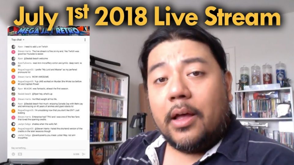 Mega Jay Retro Live Stream July 1st  2018