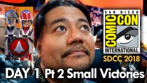 San Diego Comic Con (2018) Day 1 – Part 2 – Small Victories – MEGA JAY RETRO