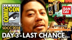 San Diego Comic Con (2018) Day 3 – Last Chance – MEGAJAYRETRO
