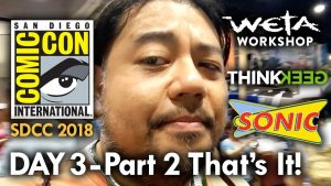 San Diego Comic Con (2018) Day 3 – Part 2 – That's It! MEGA JAY RETRO