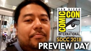 San Diego Comic Con (2018) Preview Day: Part 1 – MEGA JAY RETRO