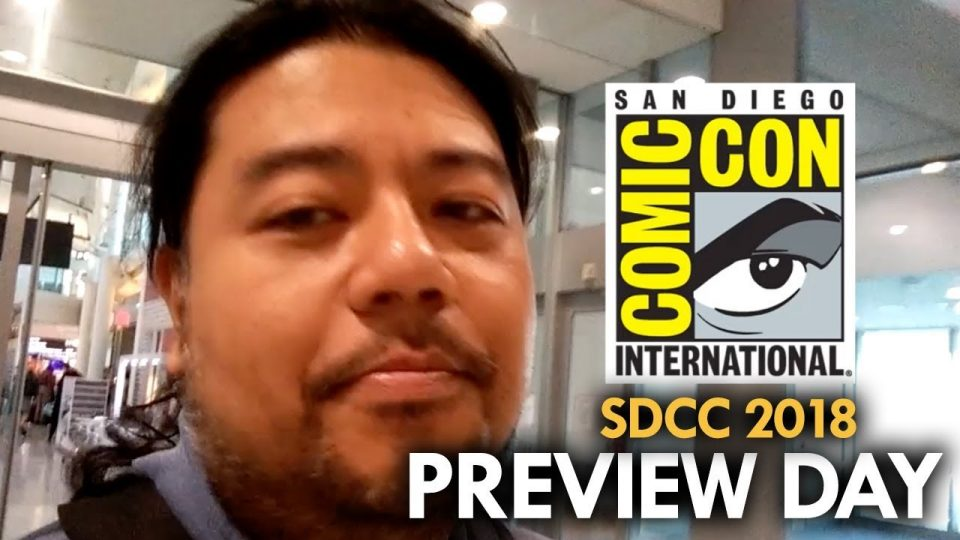 San Diego Comic Con 2018 PreviewDay Part 1
