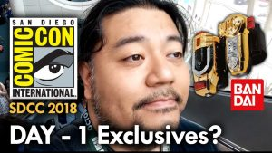 San Diego Comic Con (2018) Day 1 – The Hunt For Exclusives – MEGA JAY RETRO