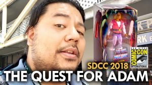 The Quest for Laughing Prince Adam at San Diego Comic Con (2018) MEGA JAY RETRO
