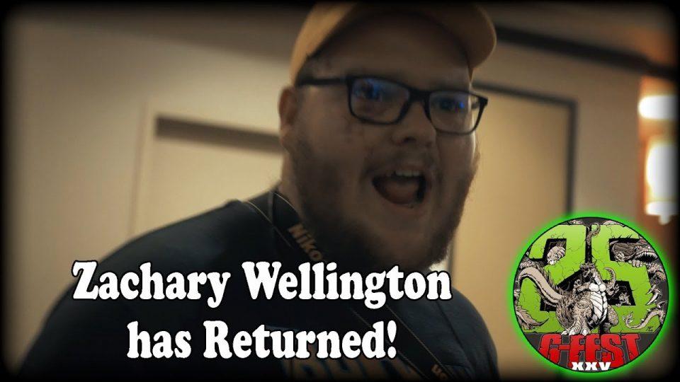 Zachary Wellington Has Returned!