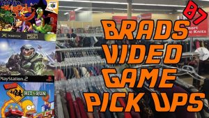 Brad's Video Game Pick Ups #7 | Thirft Store Goodness – STUDIO95
