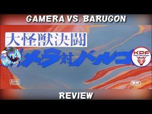 Gamera VS Barugon (1966) Review (Ft. KPF) – NICK JACKSON