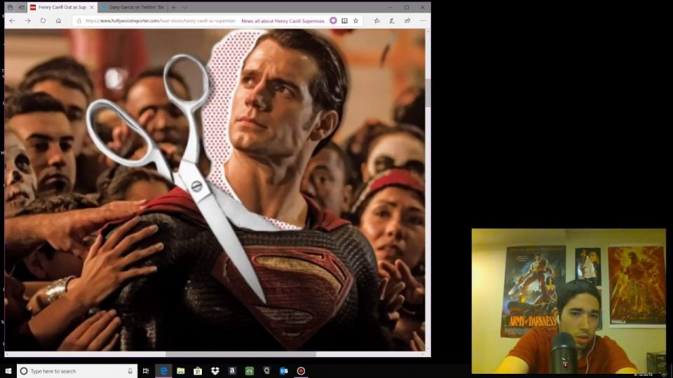 Henry Cavill Out As Superman Is Ridiculous