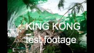 King Kong Unused/Test Footage – STORM STUDIOS
