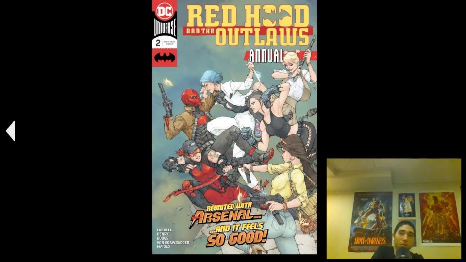 Red Hood and the Outlaws (2016-) Annual #2 Review