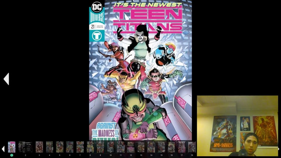 Teen Titans (2016-)  #21 Review