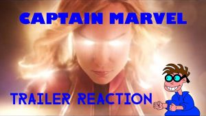 CAPTAIN MARVEL – Trailer Reaction – MATTHEW LAMONT