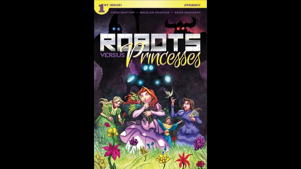 Geeking Out Quickie #363 Robots Vs Princesses # 1