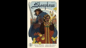 Geeking Out Weekly Quickie #365 – Sleepless #1 – JIM SUPREME