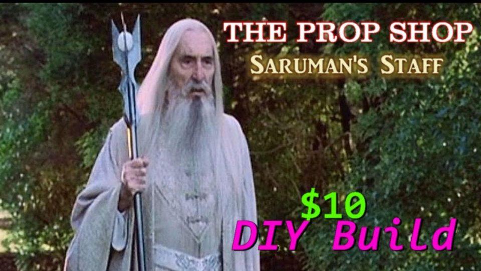 How To Build Saruman's Staff For $10! BIGJACKFILMS PROP SHOP