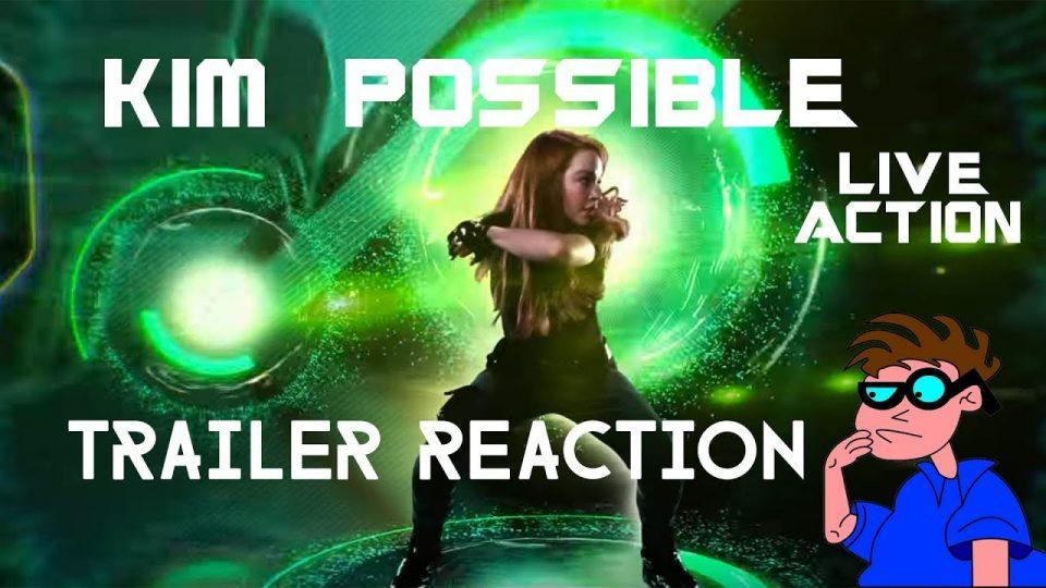 KIM POSSIBLE (Live Action Version) - Trailer Reaction Video.