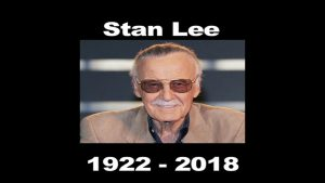 A Tribute to Stan Lee (1922 – 2018) MATTHEW LAMONT