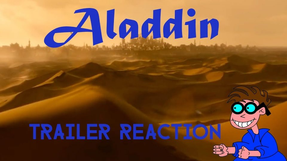 ALADDIN (Live Action Version) Trailer Reaction Video.